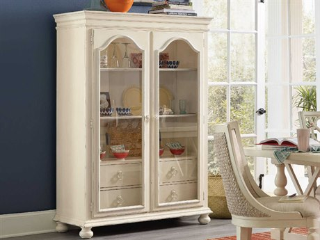 Hooker Furniture Sandcastle White Display China Cabinet HOO590075906WH