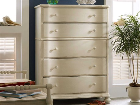 Hooker Furniture Sandcastle White 42''W x19''D Rectangular Chest of Drawers