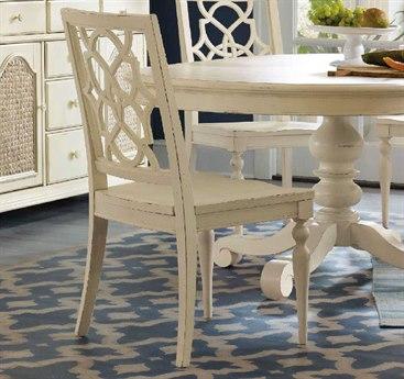 Hooker Furniture Sandcastle White Fretback Dining Side Chair (Sold in 2)
