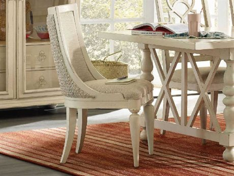 Hooker Furniture Sandcastle White Side Dining Chair