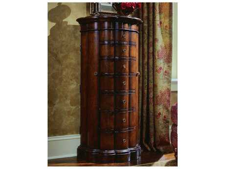 Hooker Furniture Cherry 25''W x 49.5''H Jewelry Armoire