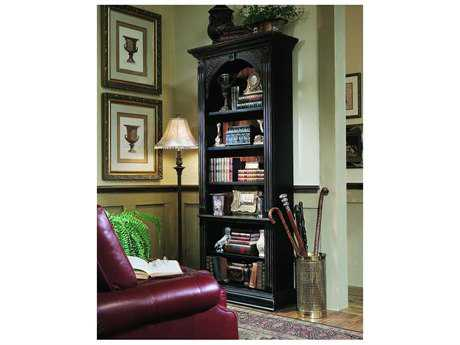 Hooker Furniture Black with Gold Accent Bookcase