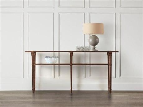 Hooker Furniture Skinny Dark Wood 80''L x 16''W Rectangular Console Table HOO558985001DKW
