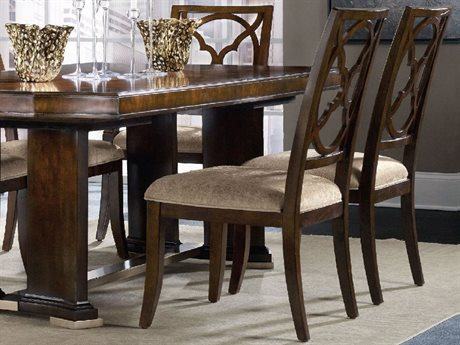 Hooker Furniture Skyline Fretback Dark Cathedral Cherry Dining Side Chair HOO533675310