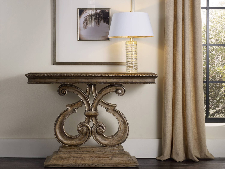 Furniture Solana Light Wood 48 L X 14 W Rectangular Console Table