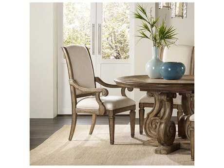 Hooker Furniture Solana Light Wood Dining Arm Chair