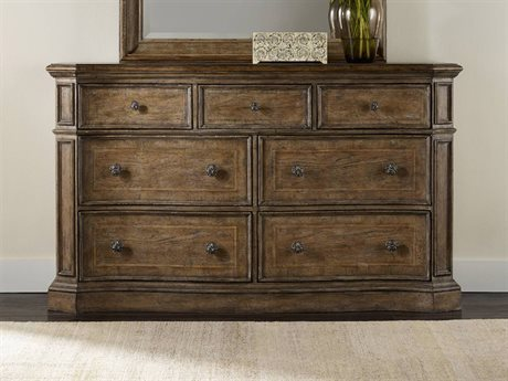 Hooker Furniture Solana Light Wood Double Dresser