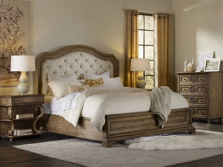 Hooker Furniture Solana Upholstered Panel Bed Bedroom Set
