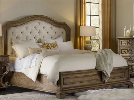 Hooker Furniture Solana Light Wood King Size Panel Bed HOO529190866
