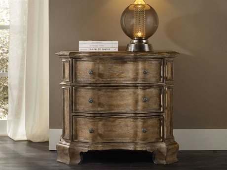 Hooker Furniture Solana Light Wood 38''W x 21''D Rectangular Bachelor Chest Nightstand