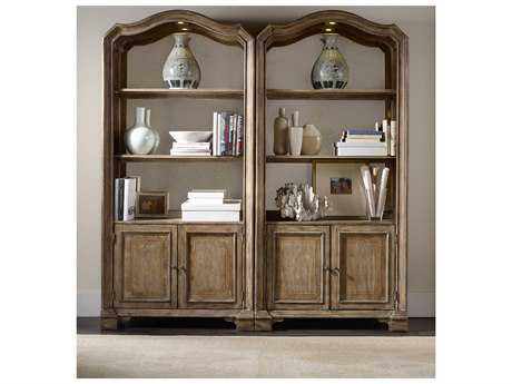 Hooker Furniture Solana Light Wood Bunching Bookcase