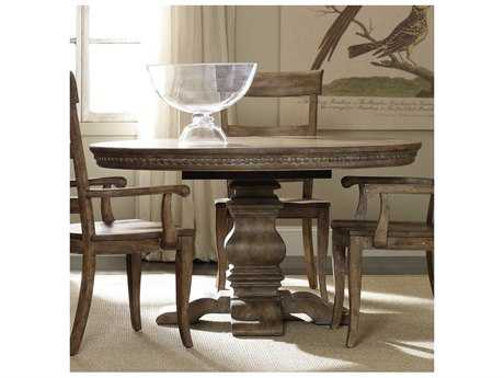 Hooker Furniture Sorella Taupe 54'' Wide Round Dining Table