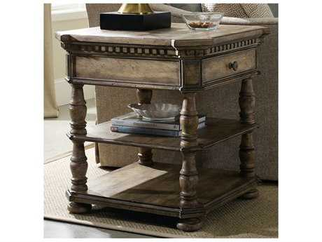 Hooker Furniture Sorella Taupe 28'' Wide Square End Table