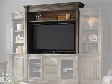 Hooker Furniture Sorella Light Wood Entertainment Console Hutch