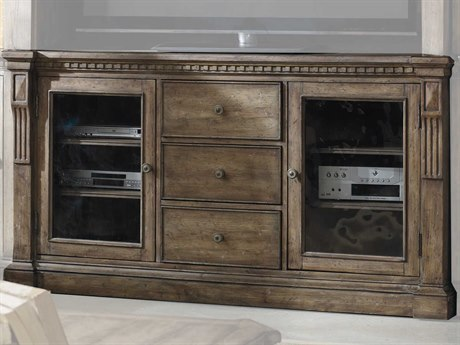 Hooker Furniture Sorella Taupe-colored Antique TV Stand