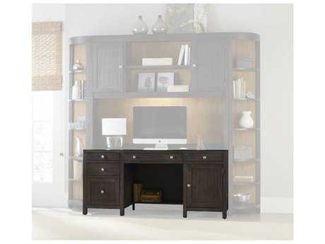 Hooker Furniture South Park Charcoal 66''L x 24''W Rectangular Computer Credenza HOO507810464
