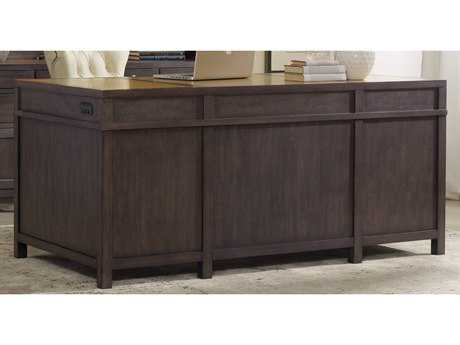 Hooker Furniture South Park Gray 66''L x 32''W Rectangular Executive Desk HOO507810562