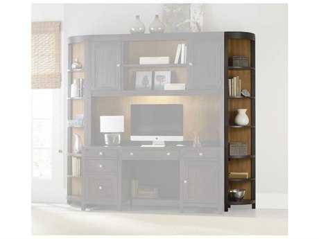 Hooker Furniture South Park Charcoal Corner Unit Bookcase HOO507810450
