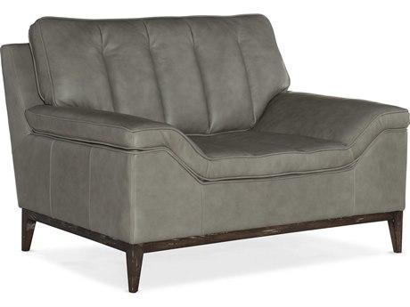 Hooker Furniture Ss Caruso Masri / Dark Wood Chair and a Half HOOSS60401083