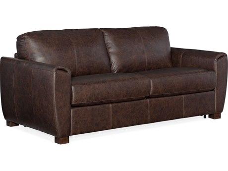 Hooker Furniture Ss Rancho Chestnut / Dark Wood Loveseat Sofa