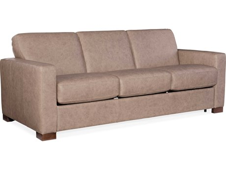 Hooker Furniture Ss Rancho Taupe / Dark Wood Sofa Bed HOOSS720SL3083