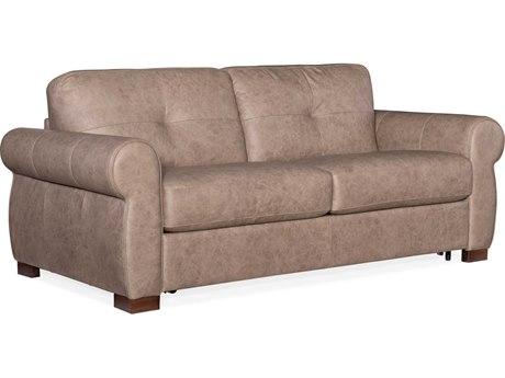 Hooker Furniture Ss Rancho Taupe / Dark Wood Sofa Bed HOOSS722SL2083