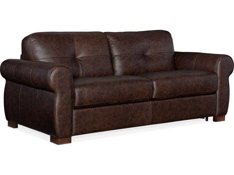 Hooker Furniture Ss Rancho Chestnut / Dark Wood Sofa Bed HOOSS722SL2089
