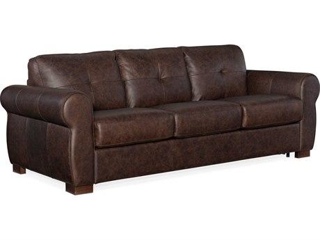 Hooker Furniture Ss Rancho Chestnut / Dark Wood Sofa Bed HOOSS722SL3089