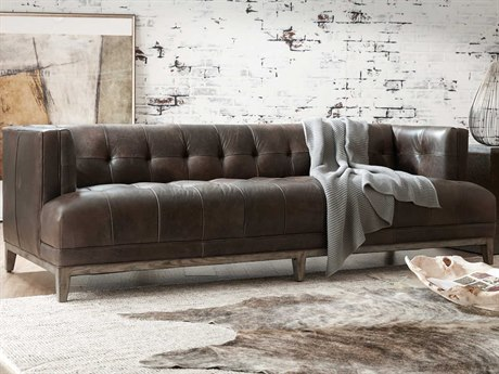 Hooker Furniture Ss Dark Wood Sofa Couch