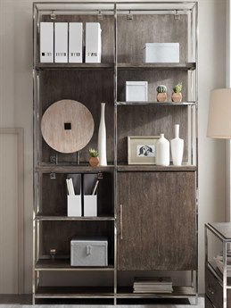 Hooker Furniture Storia Medium Wood Bookcase