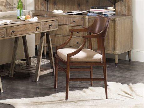 Hooker Furniture Studio 7H Medium Wood Jens Danish Dining Arm Chair