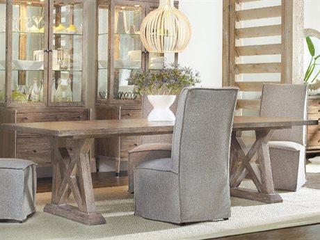 Hooker Furniture Studio 7H Scandinavian 84''-124''L x 44''W Rectangular Dining Table HOO538275207