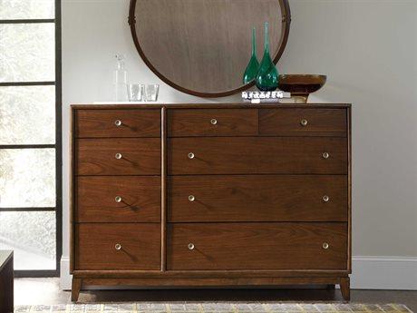 Hooker Furniture Studio 7H Low-sheen Walnut San Serif Double Dresser