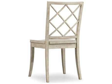 Hooker Furniture Sunset Point X Back White, Cream & Beige Dining Side Chair