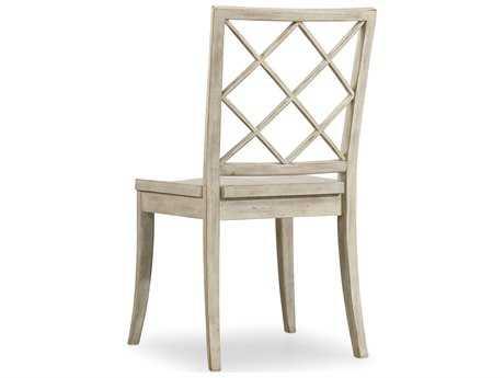 Hooker Furniture Sunset Point X Back White, Cream & Beige Dining Side Chair HOO532575310