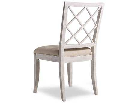 Hooker Furniture Sunset Point X-Back Hatteras White Dining Side Chair HOO532575510