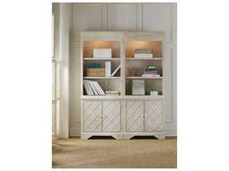 Sunset Point White, Cream & Beige Bunching Bookcase