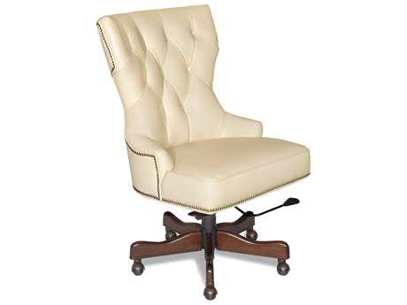 Hooker Furniture Surreal Simone Dark Wood Executive Chair HOOEC379081
