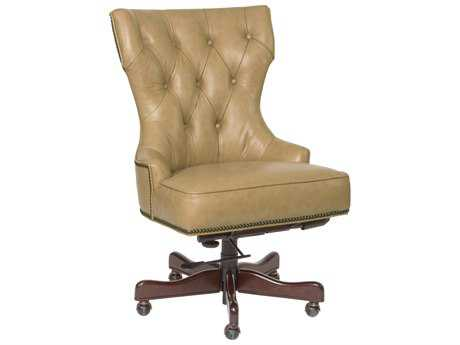 Hooker Furniture Surreal Jarry Dark Wood Executive Chair HOOEC379083