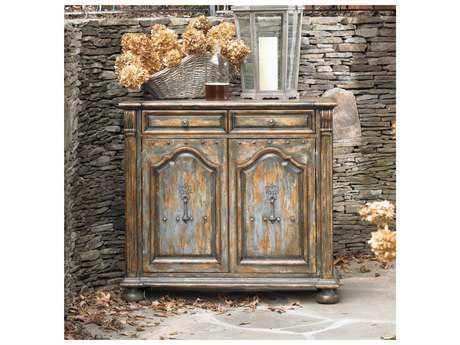 Hooker Furniture Gray 46''L x 20''W Rectangular Buffet with Bun Feet