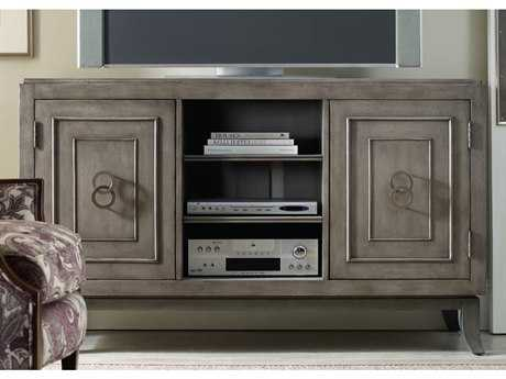 Hooker Furniture Gray 60''L x 22''W Rectangular Entertainment Console