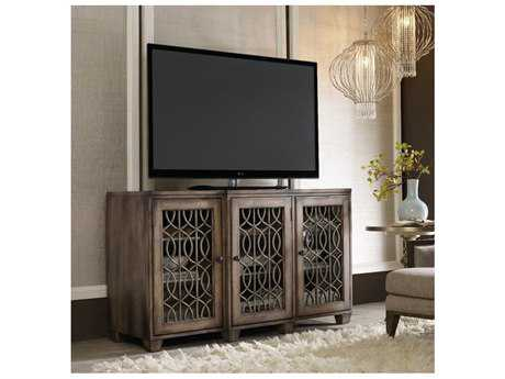 Hooker Furniture Light Wood 64''L x 22''W Rectangular Entertainment Console