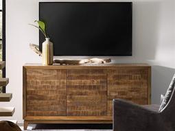 Medium Wood 64''L x 19''W Rectangular Entertainment Console