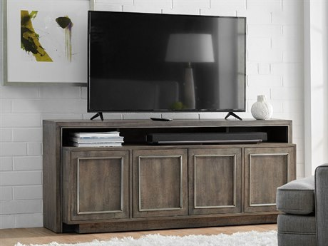 Hooker Furniture Gray 72''L x 18''W Rectangular Entertainment Console HOO560755472GRY