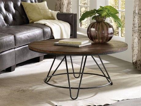 Hooker Furniture Dark Wood 38'' Wide Round Cocktail Table