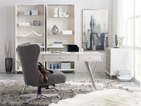Hooker Furniture The Accent Home Office Set HOO562210460WHSET