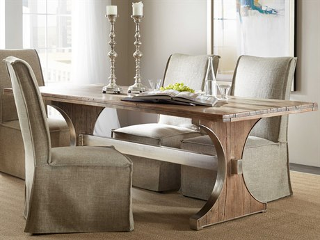 Hooker Furniture Medium Wood 84'' x 40''W Rectangular Dining Table