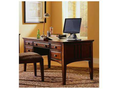 Hooker Furniture Dark Wood 60''L x 30''W Rectangular Writing Desk HOO43610158