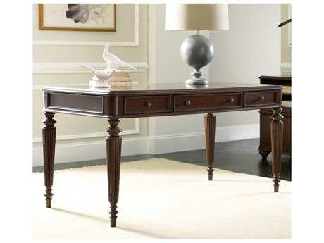 Hooker Furniture Dark Wood 60''L x 30''W Rectangular Writing Desk