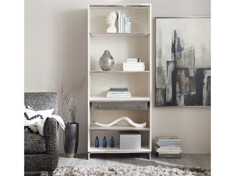 Hooker Furniture Sophisticated Whites,Creams,Beiges Bookcase HOO562210445WH